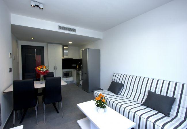 Apartamento en Rosas / Roses - 301 Nuria B1 InmoSantos Location Appartement Roses